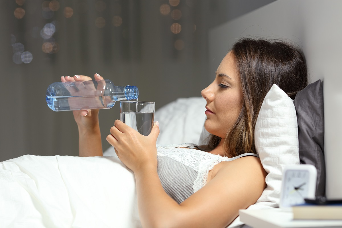 Staying hydrated is critical when you have your period