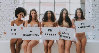 Confidence is embracing body positivity.